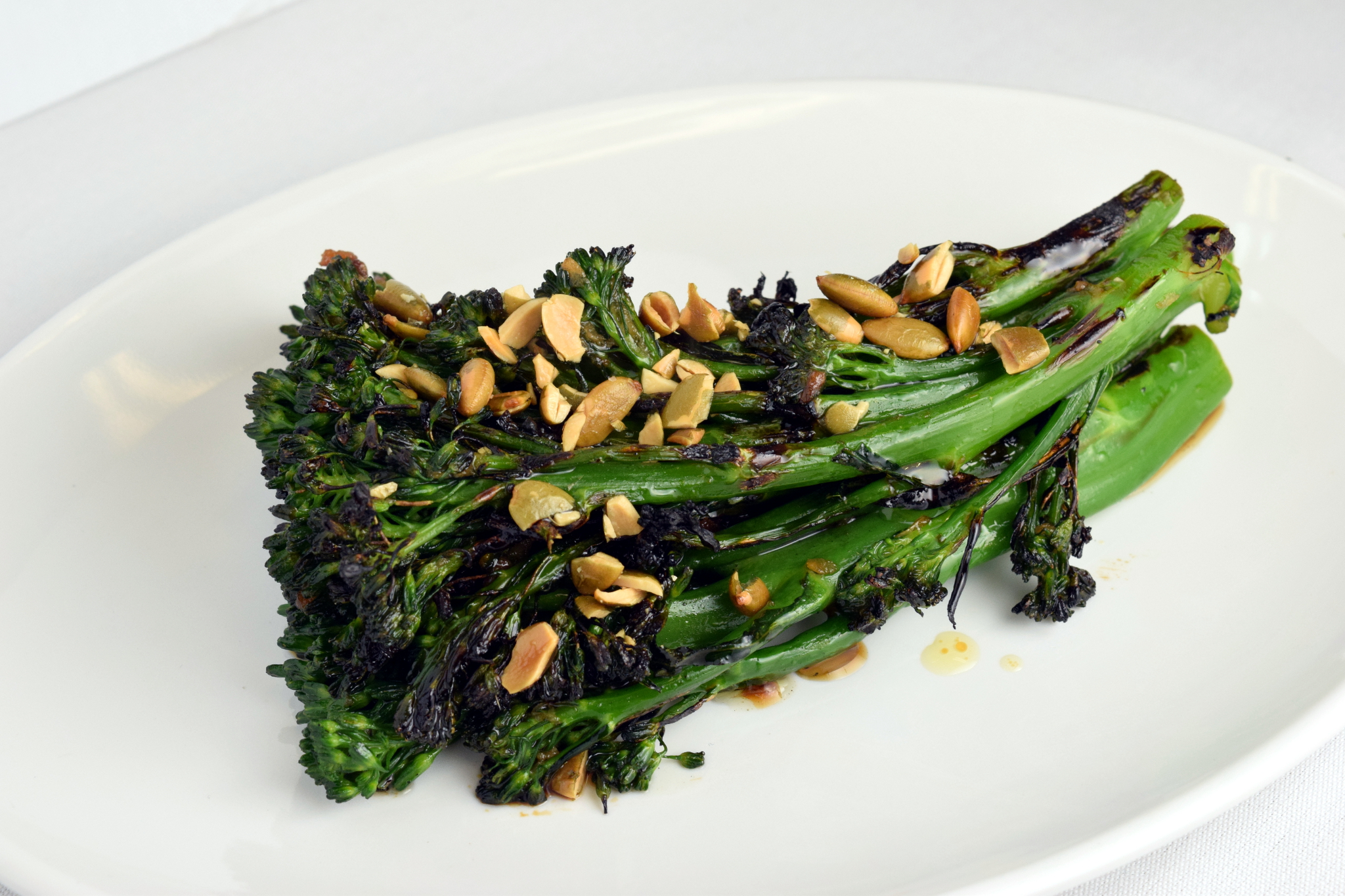 On the Menu: Charred Broccolini