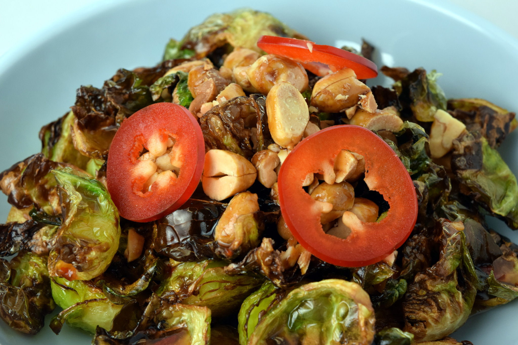 On the Menu: Crispy Brussels Sprouts