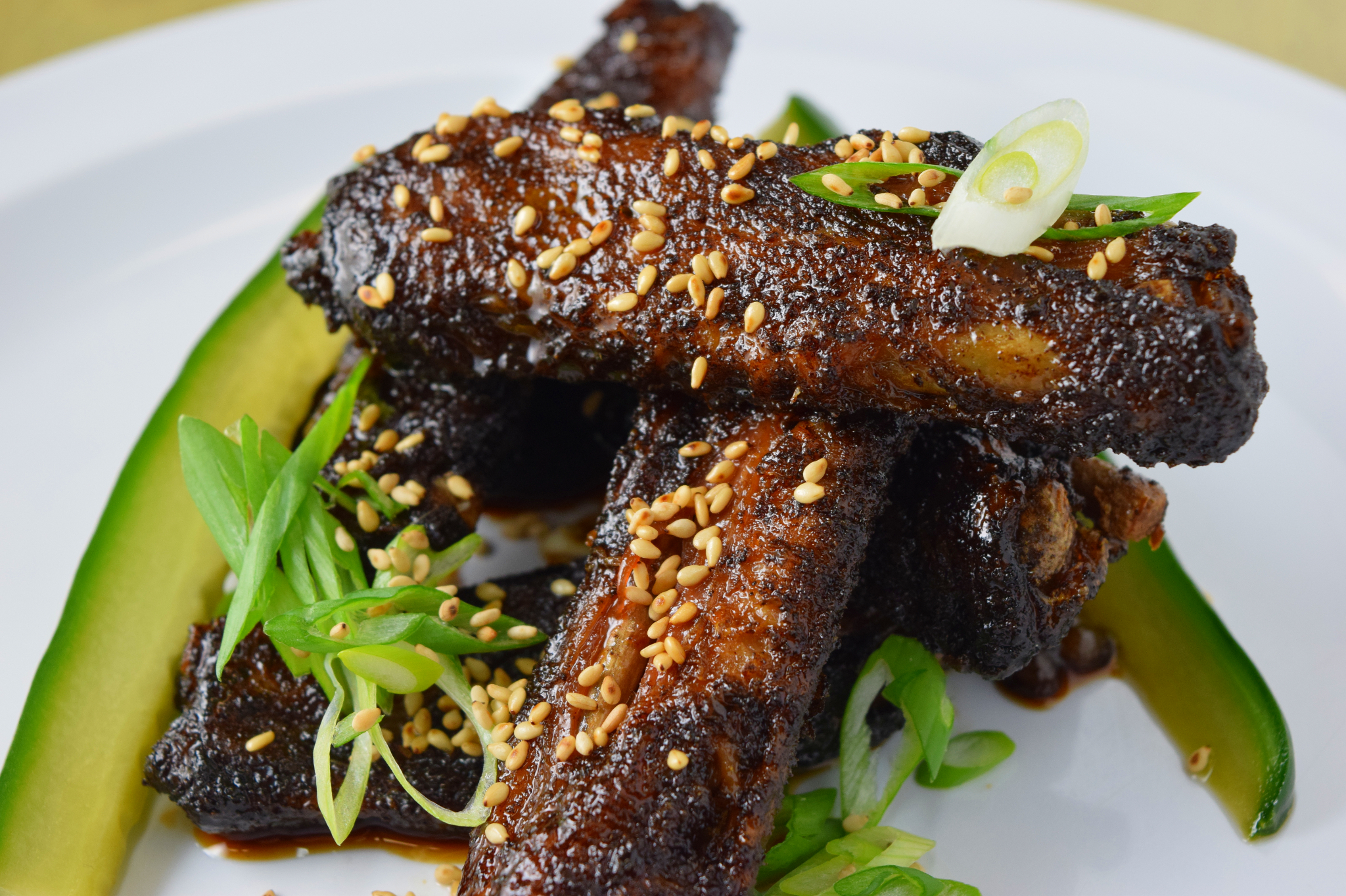 On the Menu: Five Spiced Duck Wings