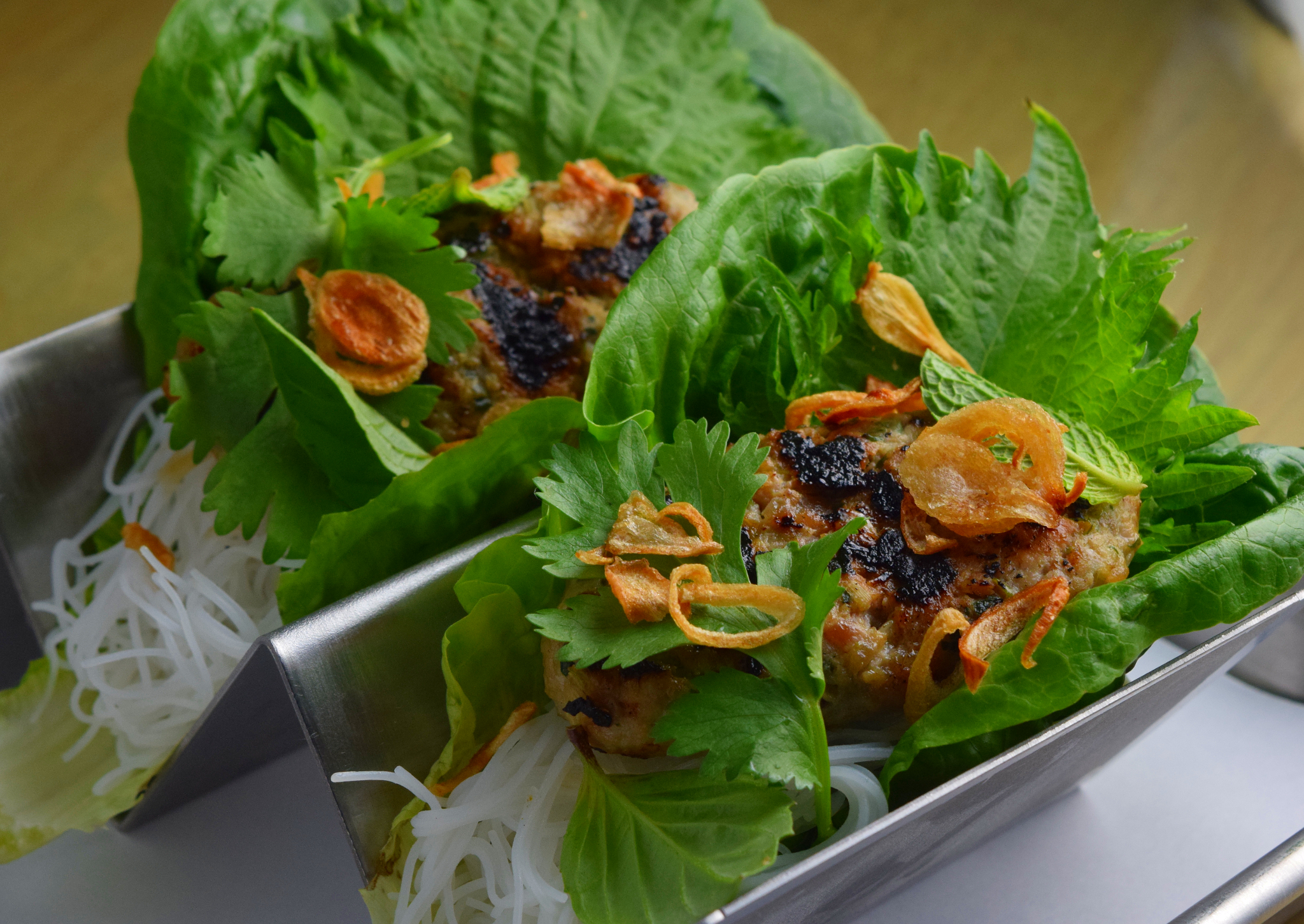 On the Menu: Lettuce Wraps